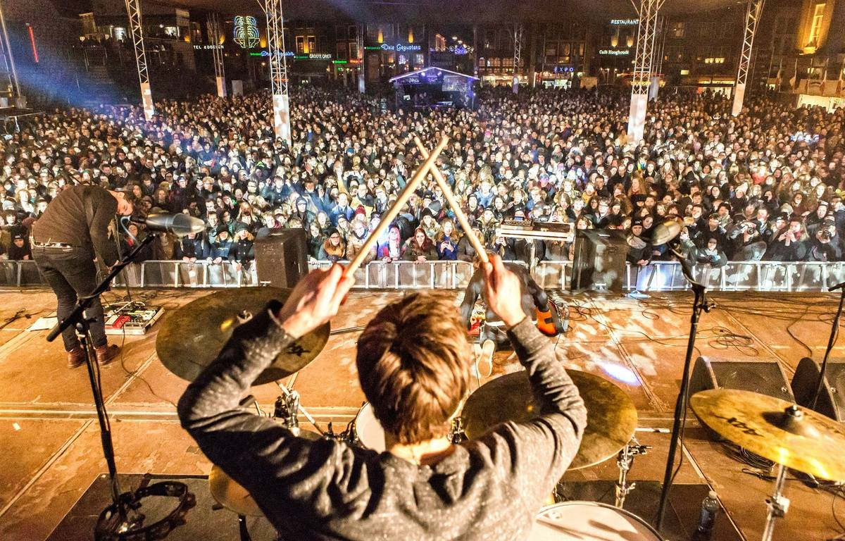 Ambiance de concert au festival Eurosonic de Groningen – bart heemskerk