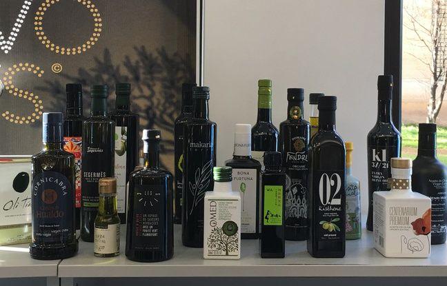 Les 22 huiles d'olive en compétition aux Olio Nuovo Days