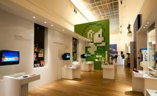 L'exposition «Game Story», au Grand Palais.