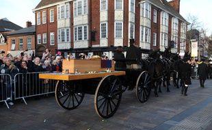 L'enterrement de Richard III le 26 mars 2015(AP Photo/Rui Vieira