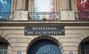 La façade du ministère de la Justice, à Paris, photographiée le 21 octobre 2015.