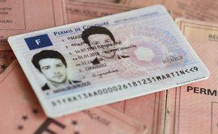Image d'illustration du permis de conduire.