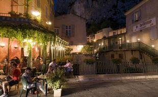 Une terrasse en Provence.
