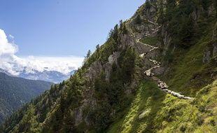 Les Alpes suisses (illustration).