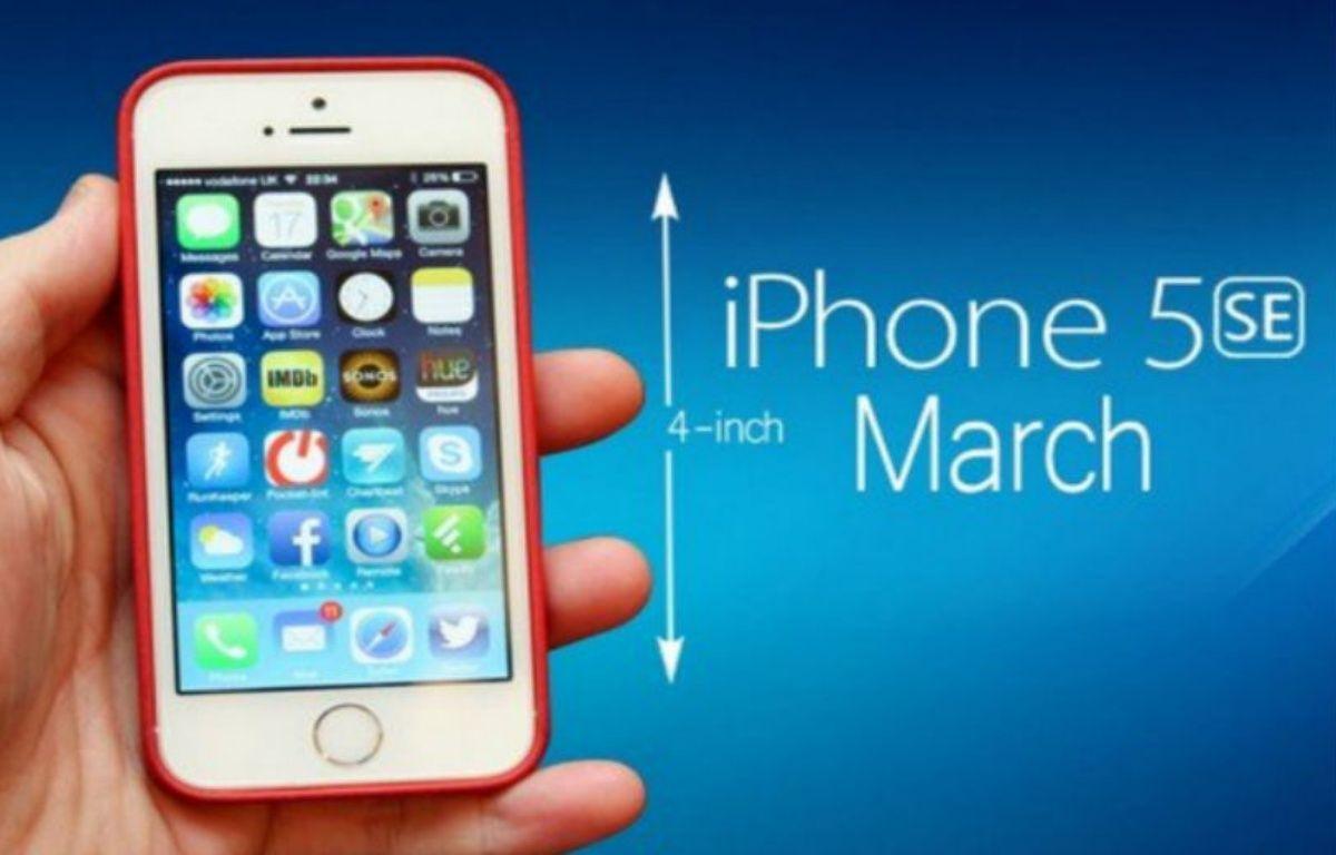 Le photo montage d'un éventuel futur iPhone 5se qui circule actuellement sur la Toile. – DR