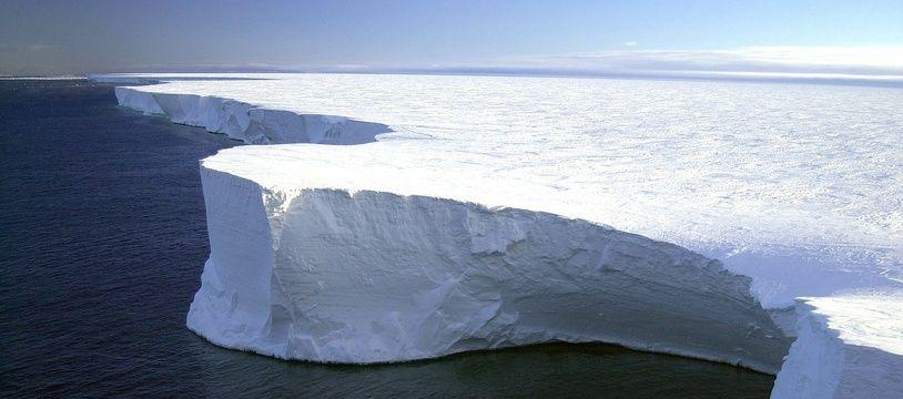 Illustration de la banquise de l'Antarctique.