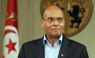 Le président tunisien Moncef Marzouki a été entendu jeudi comme témoin dans l'affaire du meurtre de l'opposant Chokri Belaïd, les proches de la victime estimant qu'il dispose d'informations sur le commanditaire de cet assassinat à l'origine d'une grave crise politique.