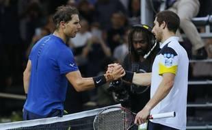 Nadal a malgré tout battu l'Uruguayen