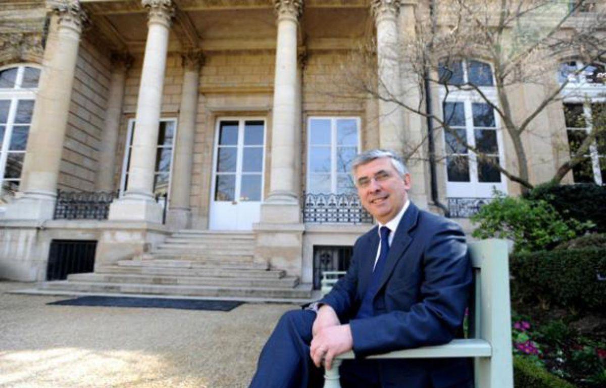 GaëtanGorce, député de la Nièvre, à l'Assemblée nationale. – SIPA