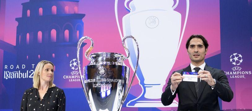 Le tirage au sort des 8e de finale de la Ligue des champions, le 16 décembre 2019.