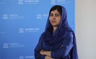 Malala Yousafzai à Paris en 2019. (archives)