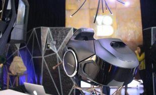 """""""Rapture"""" un visiocasque développé par Void, présenté à la TED Conference le 16 février 2016 à Vancouver au Canada"""