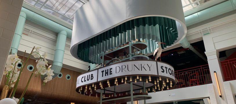 The drunky stork social club à Strasbourg le 9 juin 2021.