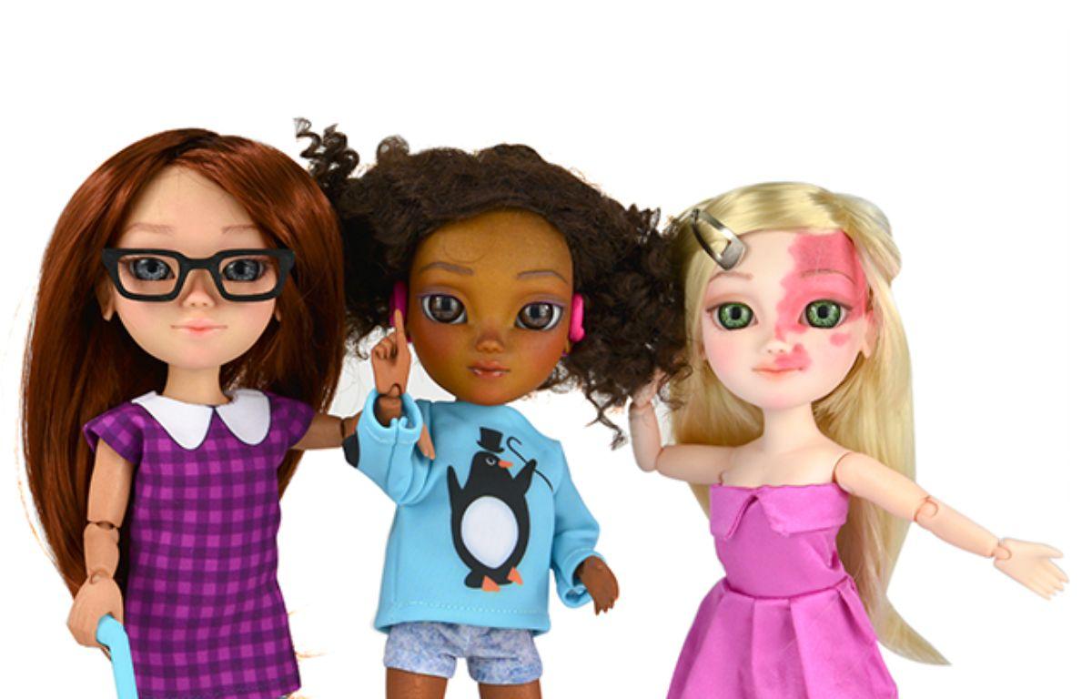 Les poupées Makies sont, depuis ce mois de mai 2015, atteintes de handicap. – Makies/Facebook