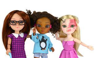 Les poupées Makies sont, depuis ce mois de mai 2015, atteintes de handicap.