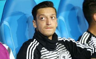Mesut Ozil lors du match Allemagne-Suède à la Coupe du monde en Russie, le 23 juin 2018.