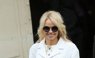 L'actrice Pamela Anderson.