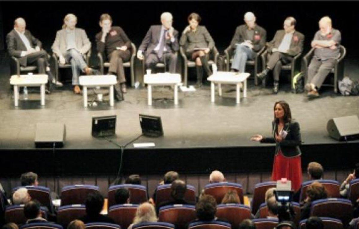 Ségolène Royal au « Rassemblement social, écologique et démocrate » samedi à Dijon. –  FACELLY / SIPA