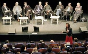 Ségolène Royal au « Rassemblement social, écologique et démocrate » samedi à Dijon.
