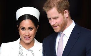 Meghan Markle et le prince Harry, le 11 mars 2019 à Londres.