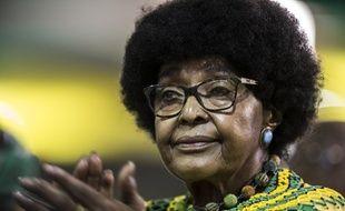 Winnie Mandela, le 20 décembre 2017 à Johannesburg.