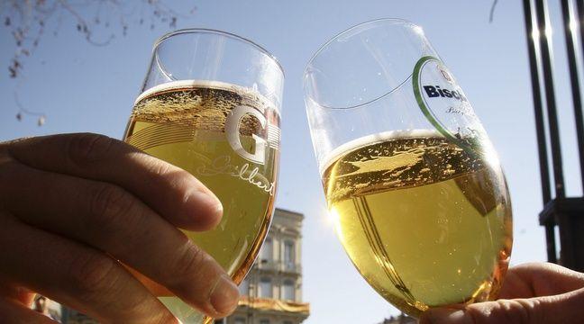 Verres de bière, à Toulouse.  – FRED SCHEIBER/20 MINUTES/SIPA