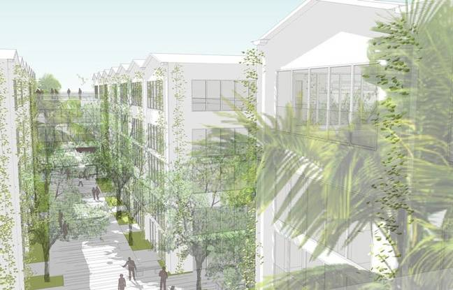 Projet de Cité numérique dans le quartier Euratlantique à Bordeaux