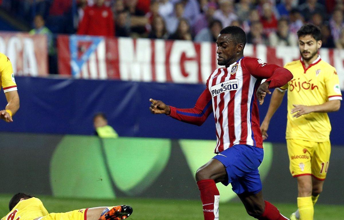 L'attaquant colombien Jackson Martinez, ici avec l'Atletico Madrid, a signé en Chine pour 42 millions d'euros. – EFE/SIPA