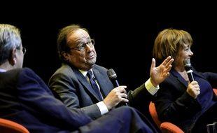 François Hollande le 1er novembre 2018 en Grèce.