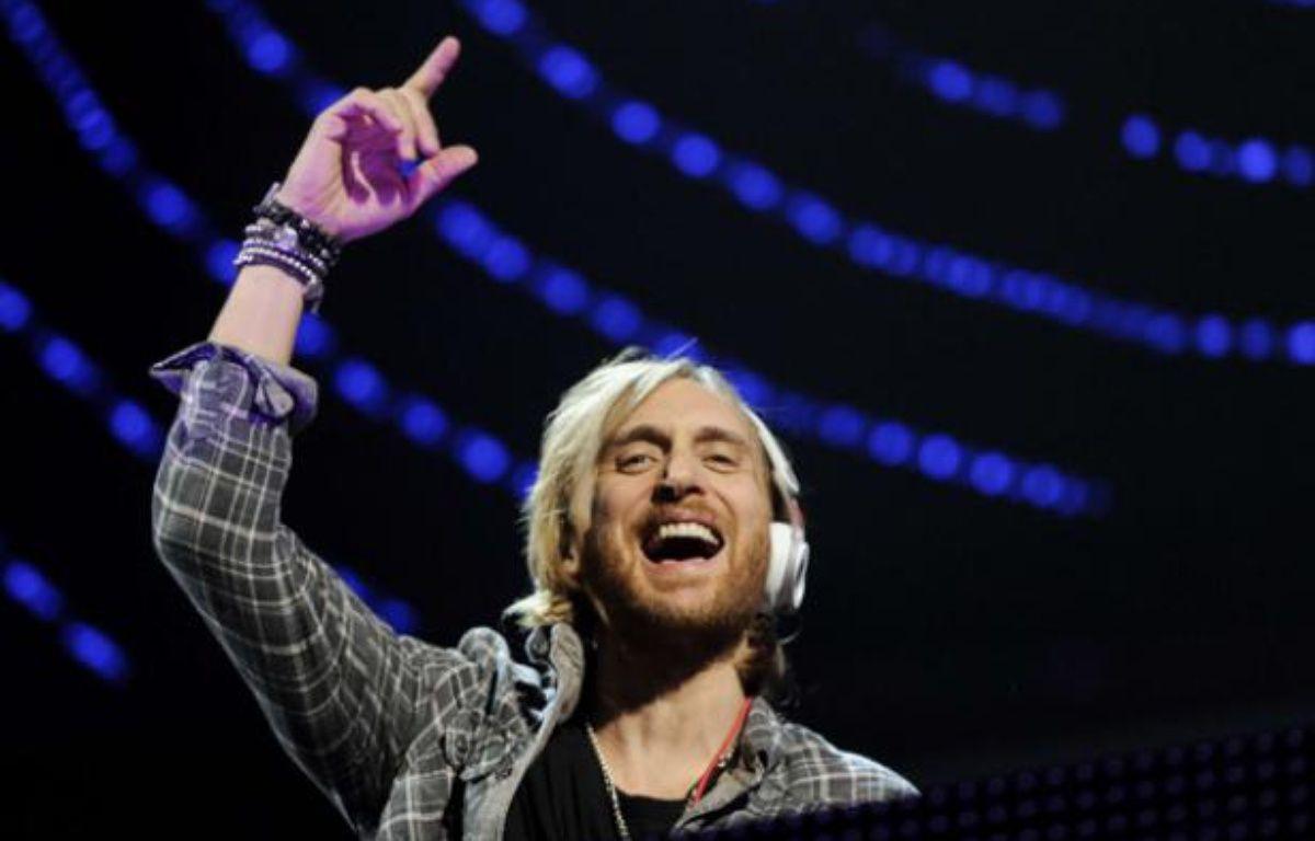 Le DJ DavidGuetta sur scène à New York en décembre 2011. – Evan Agostini/AP/SIPA
