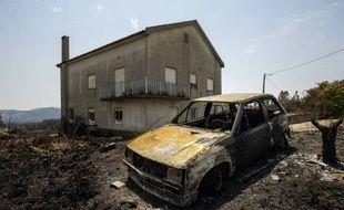 Le centre du Portugal a été très touché pour l'incendie.