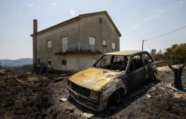 Portugal: Les pompiers viennent à bout d'un important incendie dans le centre du pays