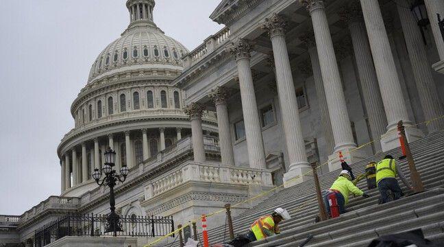 Etats-Unis : La police alerte sur le « projet d'une milice » de « forcer l'entrée » du Capitole le 4 mars - 20 Minutes