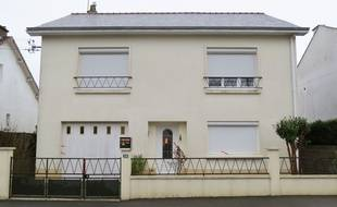 La maison de la famille Troadec à Orvault près de Nantes.