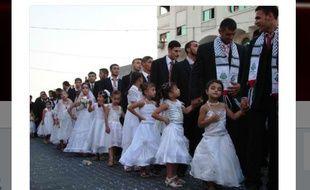 Non, cette photo ne montre pas des fillettes qui vont se marier.