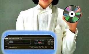 la platine Sharp fait un carton au Japon depuis le début de l'année 1984