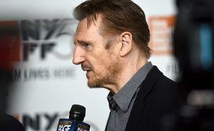 Liam Neeson à New York, le 4 octobre 2018.
