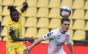 Simon a eu la balle du 2-0 dimanche contre Lorient, mais ne l'a pas convertie en but...