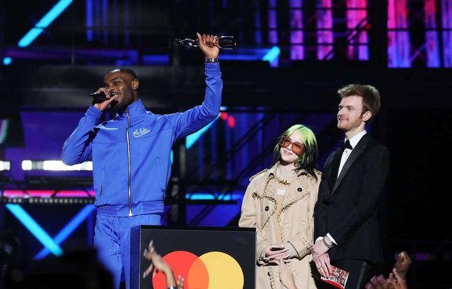 VIDEO. Le rappeur engagé Dave et l'incontournable Billie Eilish raflent la mise aux Brit Awards