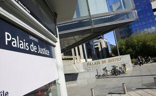 Le palais de Justice de Grenoble, le 5 février 2016