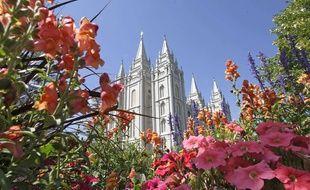 Le temple mormon de Salt Lake City