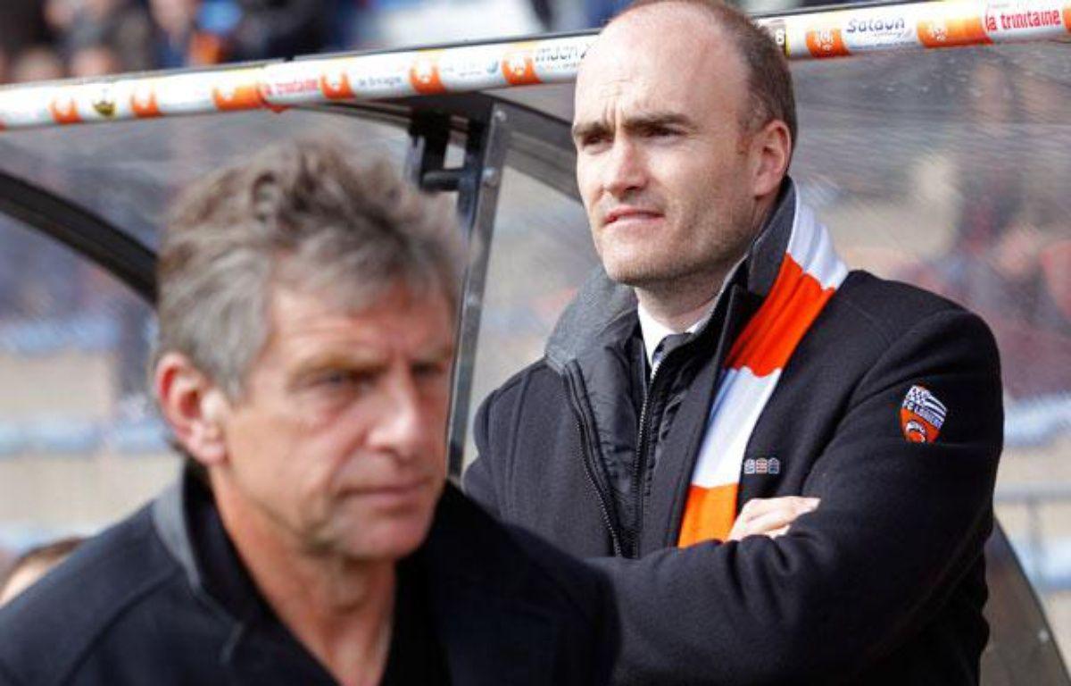 Le président de Lorient Loïc Féry le 15 avril 2012. – REUTERS/Stephane Mahe