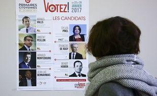 Le premier tour de la primaire à gauche le 22 janvier 2017