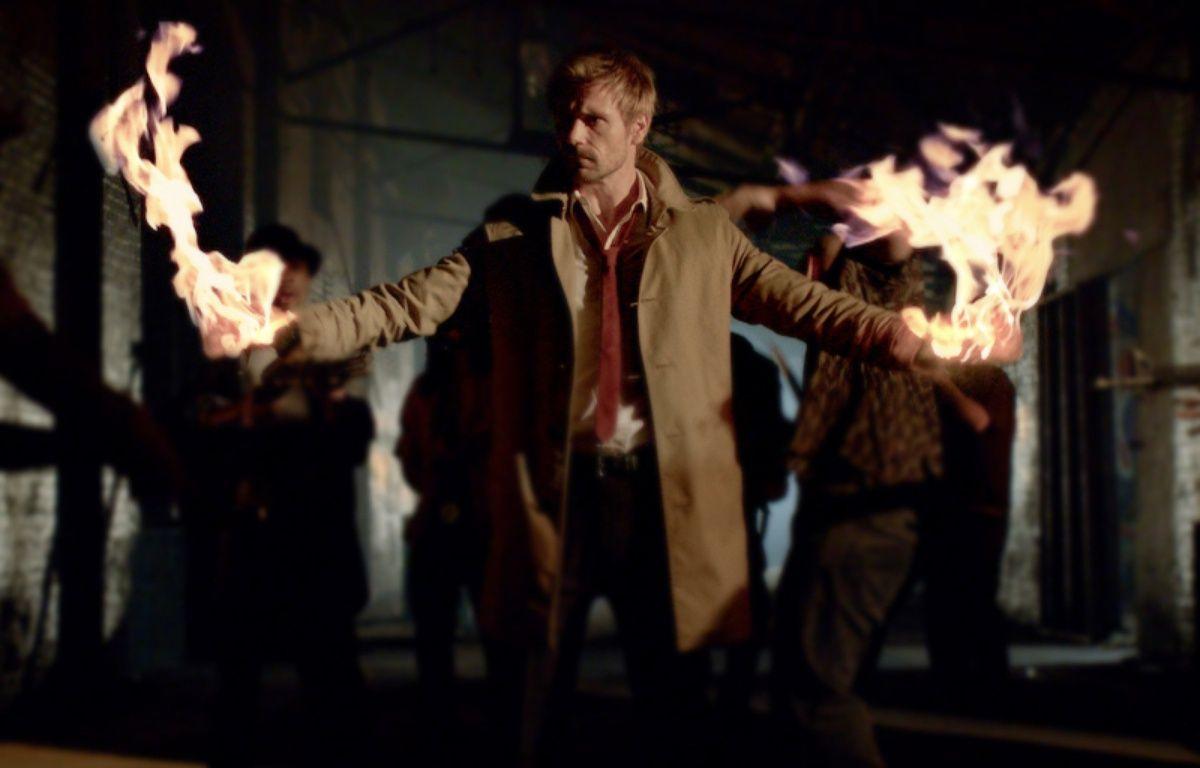 L'acteur Matt Ryan, dans la série «Constantine». – NBC