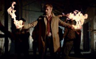 L'acteur Matt Ryan, dans la série «Constantine».