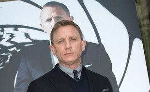 Daniel Craig à Paris le 25 octobre 2012 pour la promo de «Skyfall».