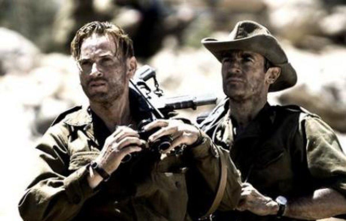 """Benoit Magimel et Albert Dupontel dans """"L'ennemi intime"""", un film sur la guerre d'Algérie – DR"""
