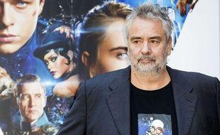 Luc Besson en 2017 à Rome pour son film « Valérian »