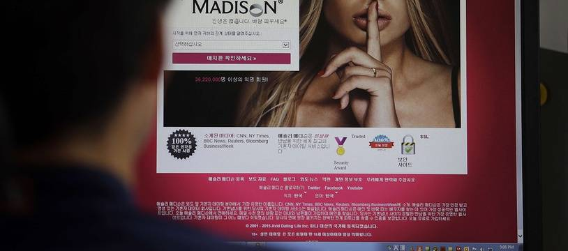 Le site Ashley Madison.