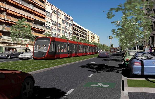 La future ligne devrait partager la chaussée avec voitures et vélos